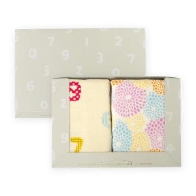 (YAHOO獨家)日本丸真 SOU SOU京都新和風毛巾2件組禮盒