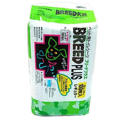 日本 BREED PLUS 犬用尿布墊 100片入x4包組
