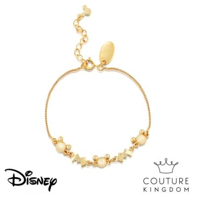 Disney Jewellery by Couture Kingdom 米奇經典水晶鍍14K金手鍊