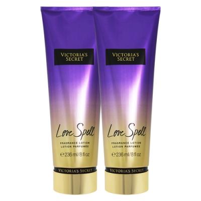 (2入)-Victoria s Secret 維多利亞的祕密 愛的魔咒 香氛美體乳 236ml(Love Spell)