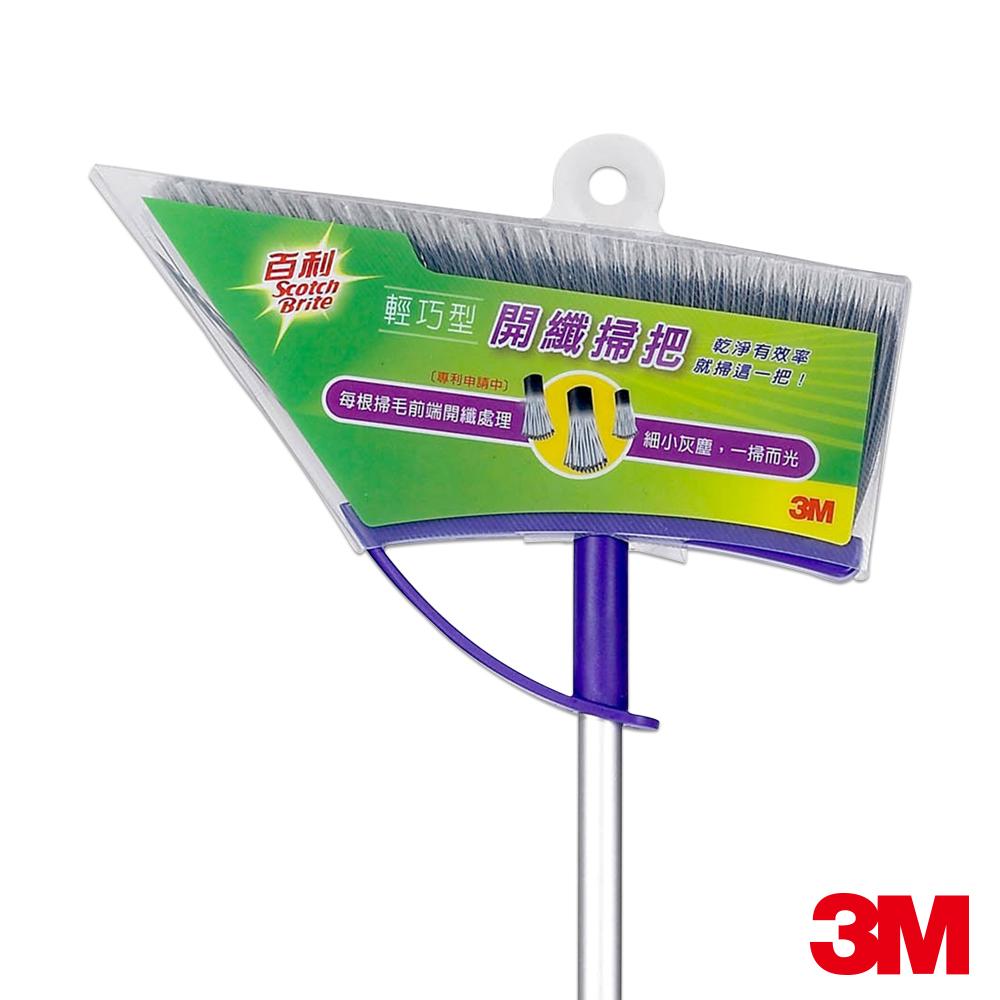 3M百利開纖掃把輕巧型