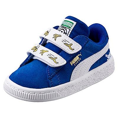 PUMA-MinionsSuedeV嬰孩鞋-寶藍
