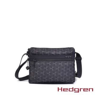【Hedgren】方塊黑多夾層收納斜背包 – HIC176 EYE