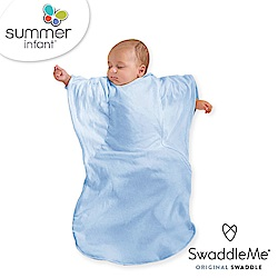 美國 Summer infant 小蝴蝶背心睡袋 - 天空粉藍