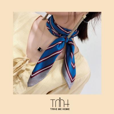TMH-氣質配色領巾小方巾-2色