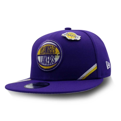 New Era 9FIFTY 950 兒童 NBA DRAFT 棒球帽 湖人隊
