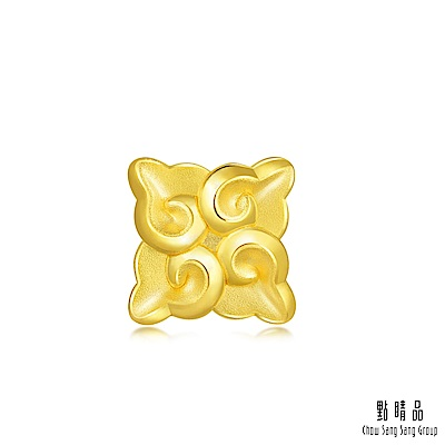 點睛品 Charme 文化祝福 如意祥雲 黃金串珠
