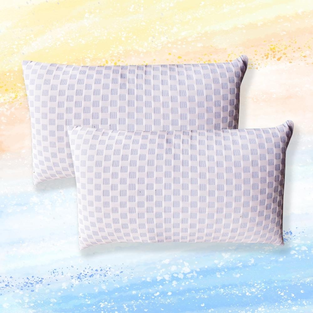 Grace Life  台灣製全方位透氣50顆袋裝獨立筒護頸紓壓彈力枕兩入