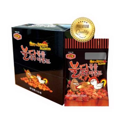 韓國Murgerbon 辣雞味炒杏仁果 12包/盒(360g)