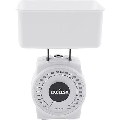 《EXCELSA》料理秤(白500g)