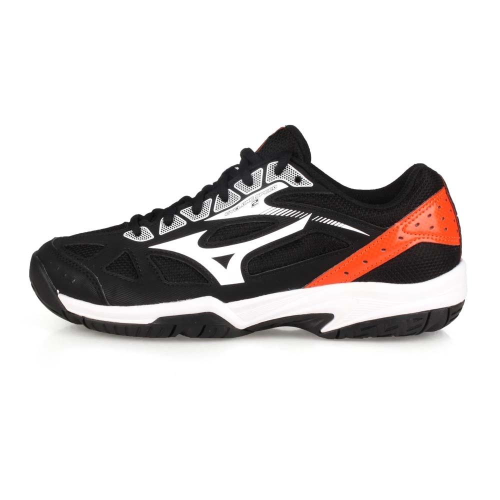 MIZUNO 男女 排球鞋 CYCLONE SPEED 2 黑橘白