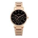 (時時樂)Valentino Coupeau范倫鐵諾 古柏時尚三眼腕錶