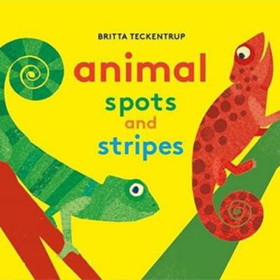 Animals Spots And Stripes 點點條紋動物硬頁書