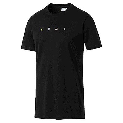 PUMA-男性流行系列Fierce Cat短袖T恤-黑色-亞規