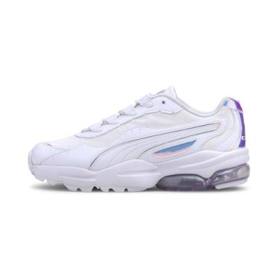 PUMA-Cell Stellar Glow 女性復古運動鞋-白色