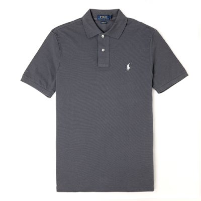 Polo Ralph Lauren 經典電繡小馬Polo衫(Classic)-深灰色
