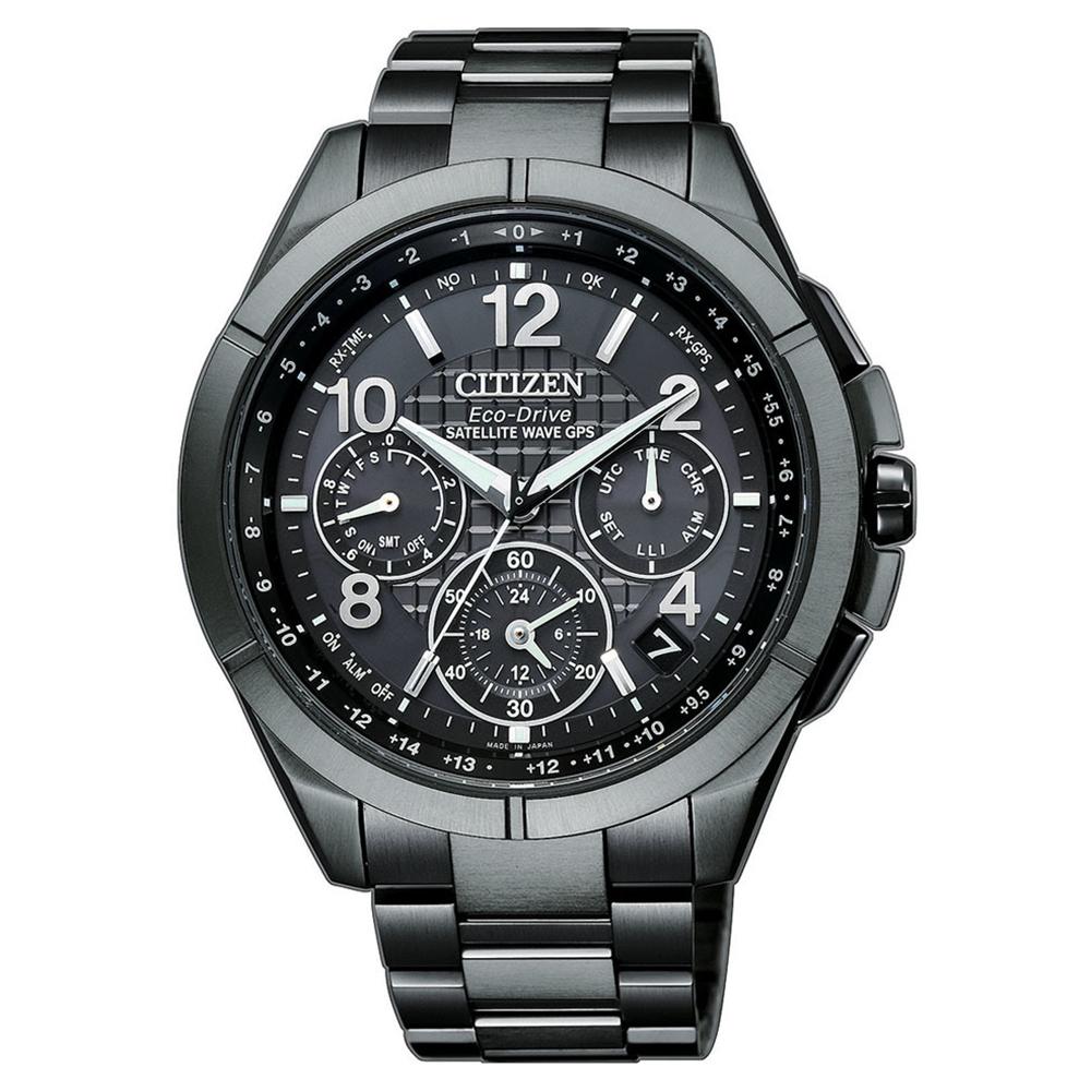 CITIZEN 星辰GPS定位對時藍寶石防水男腕錶-黑(CC9075-52F) @ Y!購物