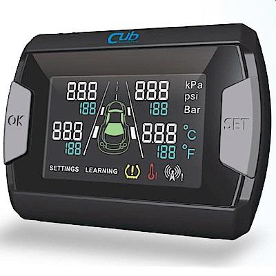 為升cub 無線傳輸四輪胎溫胎壓顯示器(CP45)