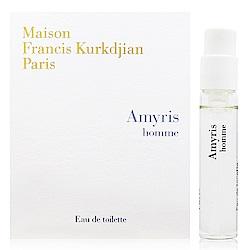 MFK Amyris homme 阿米香樹之香男性淡香水 2ml針管