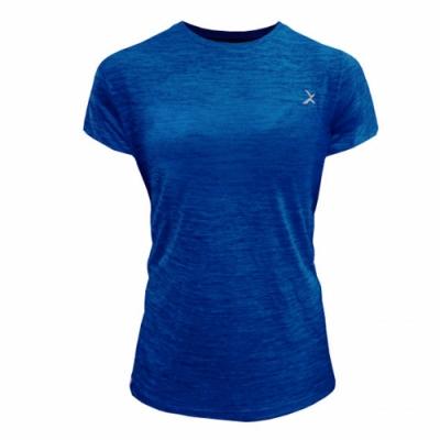 EGXtech EDS-ET2W女款涼感單導排汗短袖上衣(麻藍)
