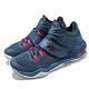 Asics 籃球鞋 Invade Nova 高筒 男鞋 亞瑟士 包覆 穩定 緩震 耐磨 亞瑟膠 藍 粉 1061A029401 product thumbnail 2