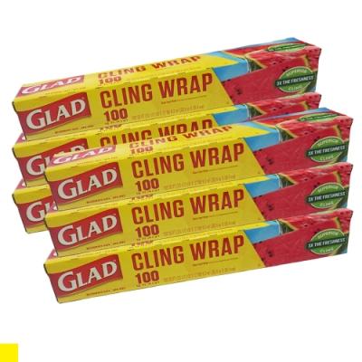 GLAD GLING WRAP 保鮮膜 食物 水果 保鮮 分裝 6入組