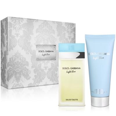 D&G Light Blue 淺藍女性淡香水禮盒