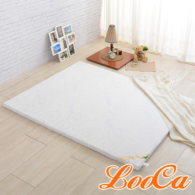 LooCa 德國銀離子抗菌專利HT 5cm舒眠乳膠床墊(雙人5尺)