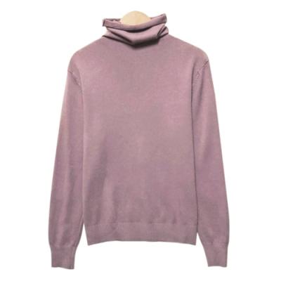 純色高領針織上衣 共四色 TATA-(M~XL)