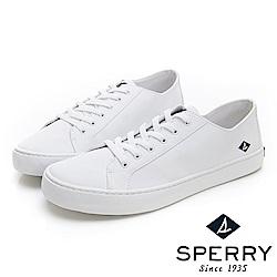 SPERRY 簡約百搭個性休閒鞋-(男)-白