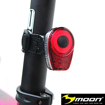 【MOON】 RING 紅光LED警示燈6段模式鋁合金後燈