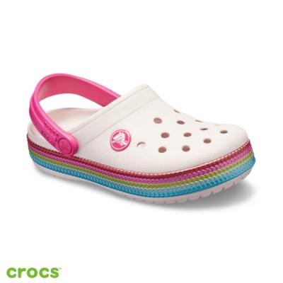 Crocs 卡駱馳 (童鞋)閃亮小卡駱班-205525-6PI