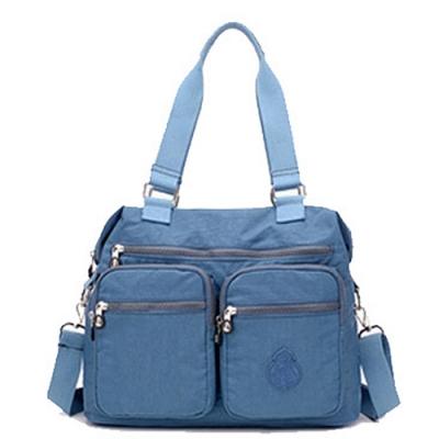 【KISSDIAMOND】防潑水超大容量手提媽媽包-6615(手提/肩背/大容量/烟灰色)
