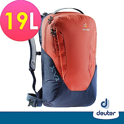 【deuter德國】 X-Venture XV1 19L多功能休旅背包3850218紅灰藍