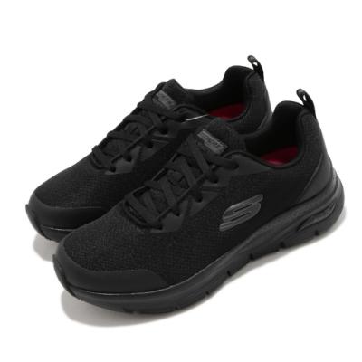 Skechers 休閒鞋 Arch Fit SR 專利鞋墊 女鞋 健走 緩衝 回彈 避震 穩定 透氣 黑 108019BLK