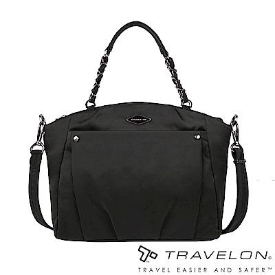 Travelon美國防盜包 PARKVIEW肩/斜背兩用包TL-43409-19黑