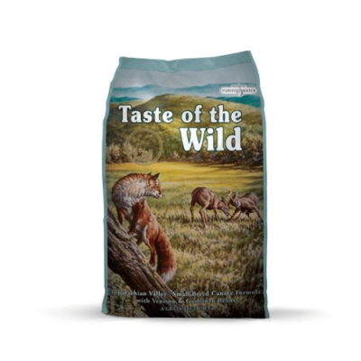美國Taste of the Wild海陸饗宴-阿帕拉契鹿肉鷹嘴豆(小型犬專用無榖山珍) 12.2kg(26.9LBS)