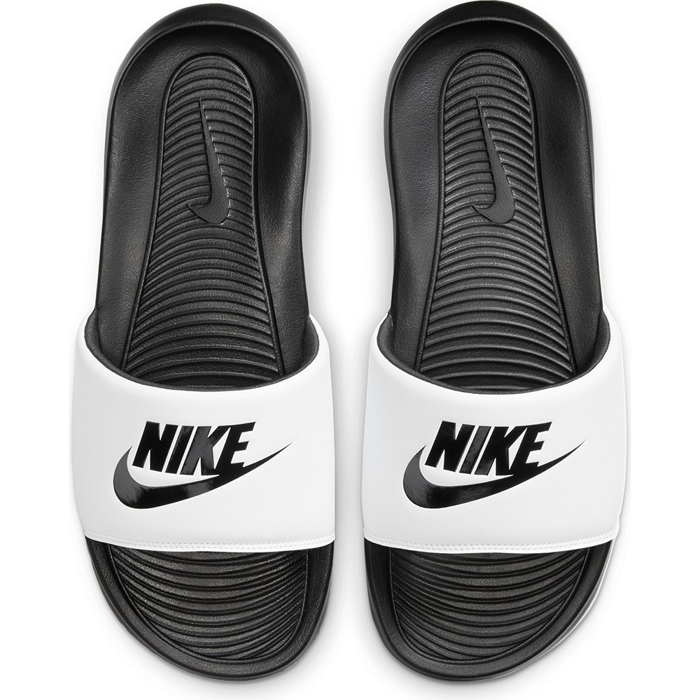 NIKE 拖鞋 運動 輕便 休閒 白黑 男鞋  CN9675005 VICTORI ONE SLIDE