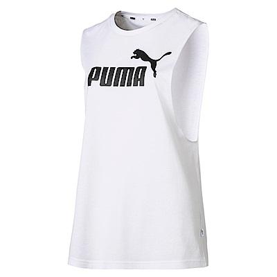 PUMA-女性基本系列經典休閒背心-白色-歐規