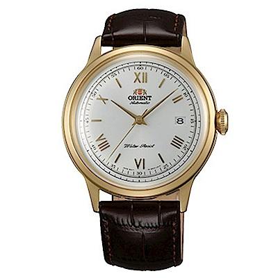 ORIENT東方錶 DATEII圓滿時手動機械錶(FAC00007W0)-白x40.5mm
