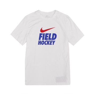 Nike T恤 Field Hockey Tee 男款 DRI-FIT 吸濕排汗 快乾 圓領 白 藍 561416100FHRR