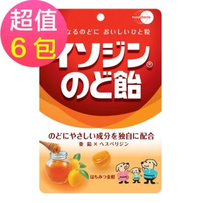 必達舒 喉糖-蜂蜜金桔口味x6包(91g/包)
