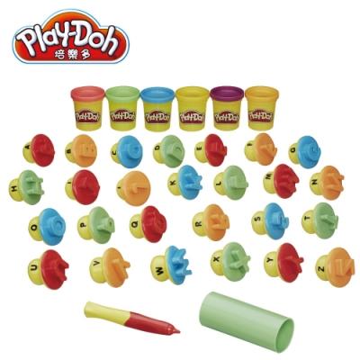 Play-Doh 培樂多-英文字母學習遊戲組 無毒黏土 創意DIY