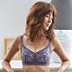 蕾黛絲-安全好感無鋼圈靠過來 C-E罩杯內衣 黔綣紫 product thumbnail 1