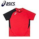 Asics 亞瑟士 男女排羽球衣 紅黑 K11805-23