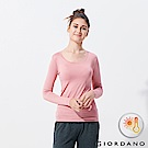 GIORDANO 女款Beau-warmer plus+彈力圓領極暖衣-71 粉紅