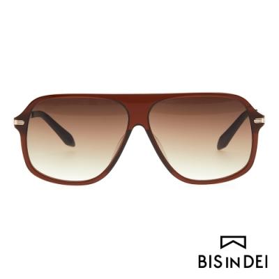 BIS IN DEI 韓流款太陽眼鏡-棕