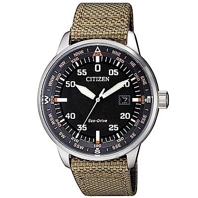 CITIZEN 星辰簡約質感光動能腕錶/BM7390-14E