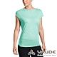 【VAUDE德國】女款抗臭吸濕排汗透氣快乾棉感短袖T恤VA-40962薄荷綠 product thumbnail 1