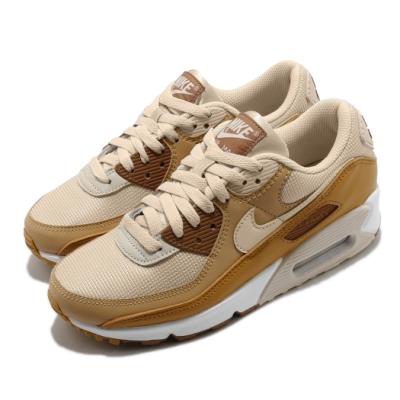 Nike 休閒鞋 Air Max 90 運動 女鞋 經典款 氣墊 舒適 避震 簡約 穿搭 棕 白 CZ3950101